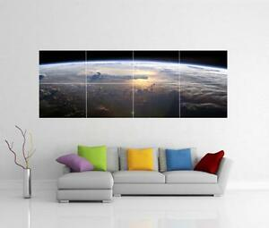 SUNRISE-ON-EARTH-SPACE-GIANT-WALL-ART-PICTURE-PRINT-POSTER-H2