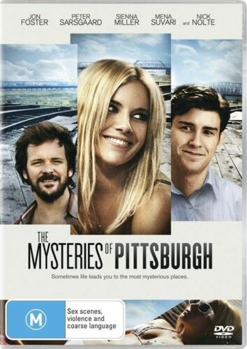 1 of 1 - The Mysteries Of Pittsburgh (Nick Nolte) DVD  (Region 4)
