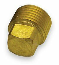 "Solid Brass Garboard Boat Hull Drain Plug 1//2/"" Pipe Plug Sea Ray Bayliner 2 Pack"