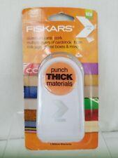 """Fiskars THICK MATERIALS 1.5/"""" Medium STAR Shape Punch NEW"""