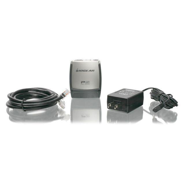 Iogear GMFPSU01 USB 1 Port Multi Function Print Server