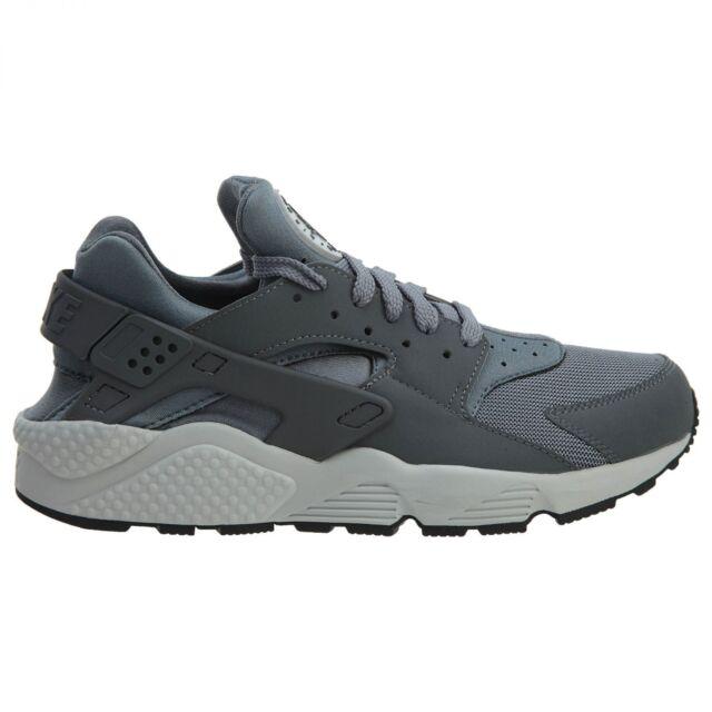 hot sales 1bfcf 1d5dd Nike Air Huarache Mens 318429-048 Cool Grey Platinum Running Shoes Size 8.5