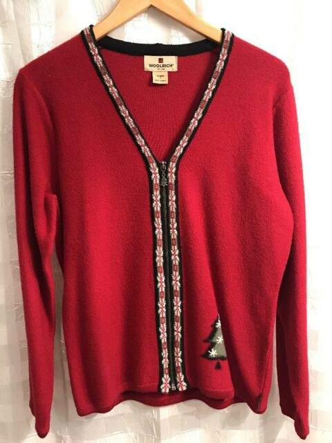 Woolrich Womens Zippered Sweater Size/S