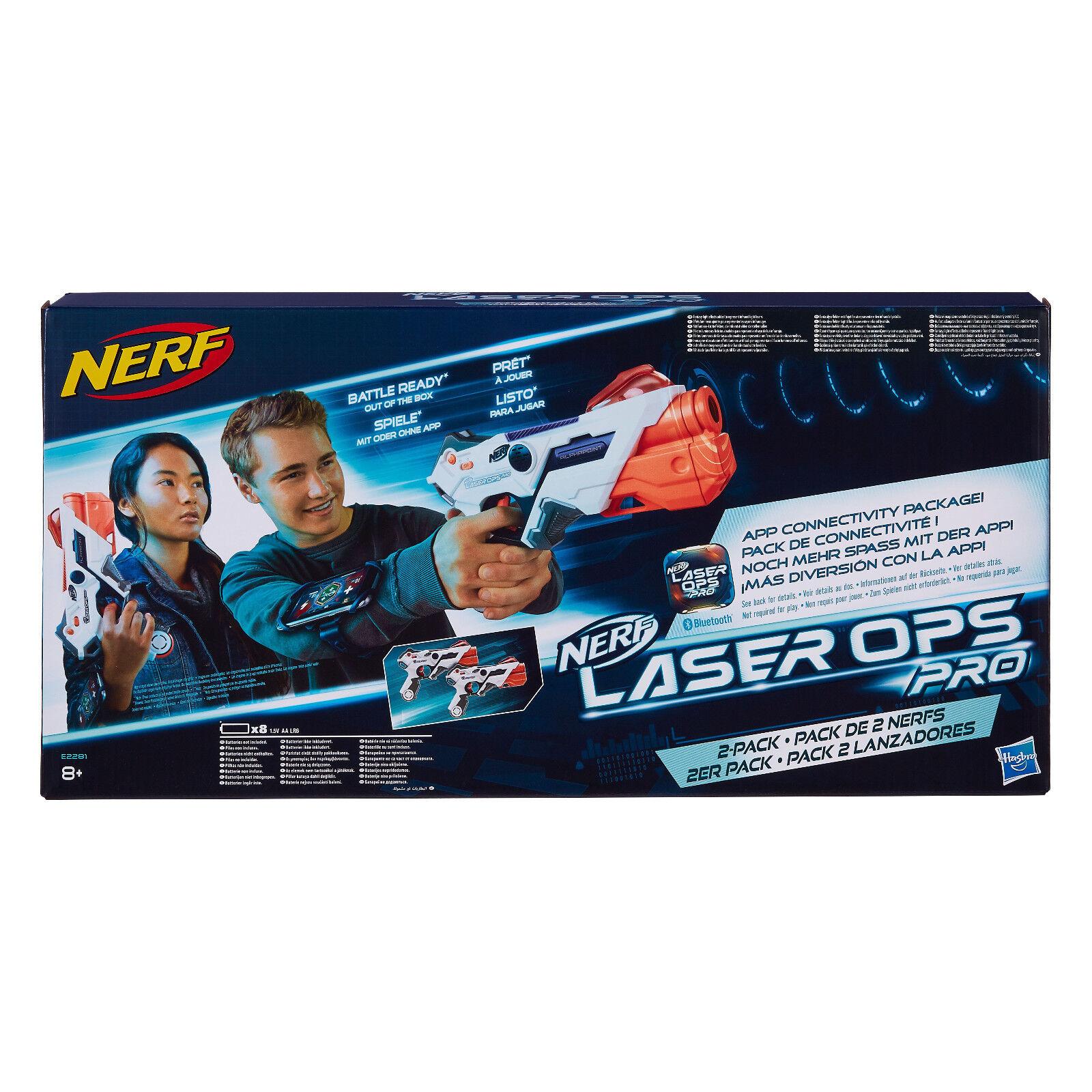 Nerf E2281 - Láser Ops pro Alphapoint, 2er-PACK, Nuevo   Embalaje Original