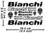 Bianchi-estampado-decal-bicicleta-vinilo-grafico-autocollant-pegatinas-adesivi-585 miniatura 1