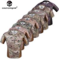 Emerson Skin Tight Tactical Shirt V-collar Anti-uv & Wicking Outdoor Sport E9167