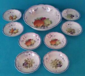 Style De Mode Service A Salade De Fruits En Porcelaine Allemande Ref 302762315071