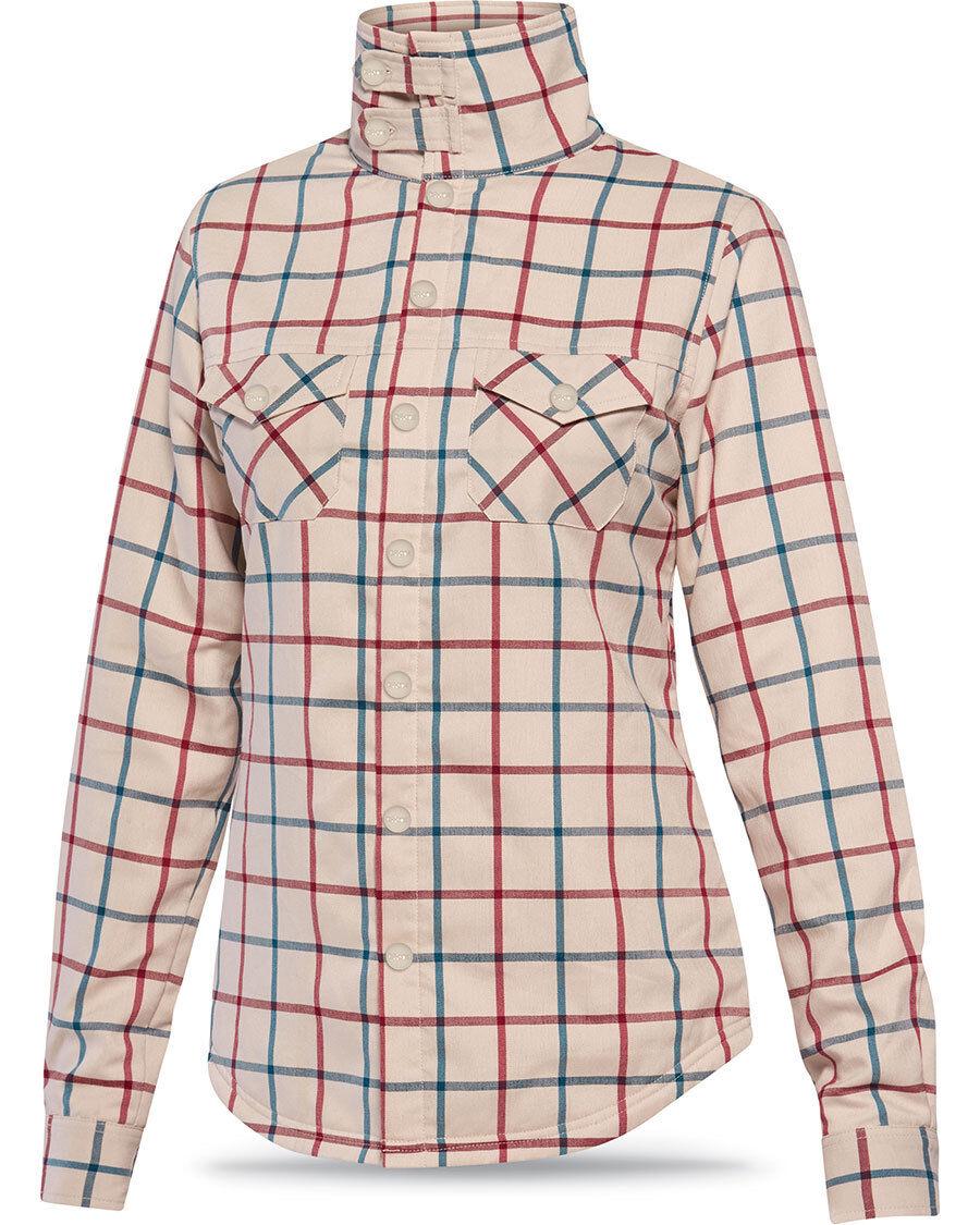 Nueva Franela Dakine para mujer Cameron  camisa de mangas largas Medio Hombres a Cuadros  venta al por mayor barato