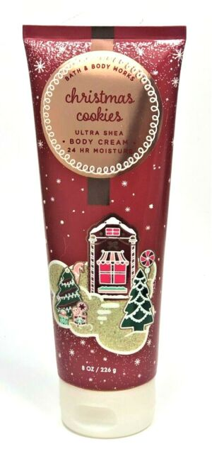 1 Bath & Body Works Christmas Cookies Ultra Shea Cream Hand Lotion 8oz Large for sale online   eBay