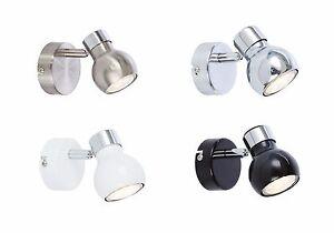 Simple-1-Spotlight-Lumiere-Retro-Ronde-mur-LUMIERE-Plafonnier-DEL-GU10-adapte