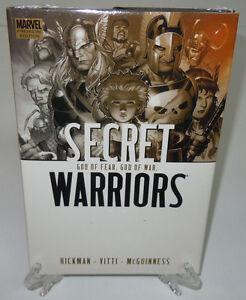 Secret-Warriors-Vol-2-God-of-Fear-amp-War-Marvel-Comics-HC-Hard-Cover-New-Sealed