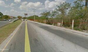 Terreno comercial en renta sobre periferico norte en Merida