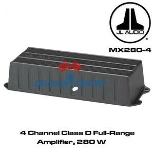 JL-Audio-MX280-4-marine-powersports-4-channel-amplifier-50X4-RMS-WATTS-NEW