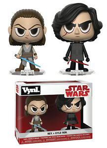 Funko-Vynl-Star-Wars-Rey-et-Kylo-Ren-Vinyle-Figurine-2pk