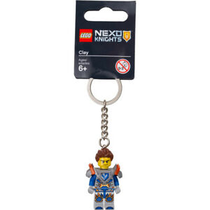 LEGO-NEXO-KNIGHTS-CLAY-KEY-RINGS-BAG-CHARMS-853524-NEW