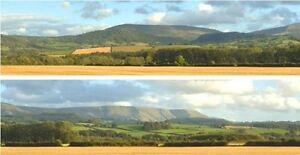 """MéThodique Id 242 Backscenes 00 Gauge 'harvest Hills' 2 X15"""" X 60"""" Rolls In Tube -t48 Post Excellente Qualité"""