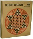 Boxed Chinese 6 Angle Checkers & Gobang Wooden Board Game High Quality
