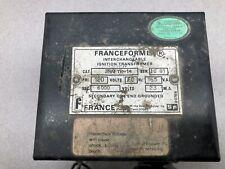 Used Franceformer 120 Vac Pri 6000 Vac Sec Ignition Transformer 3rafyr 14