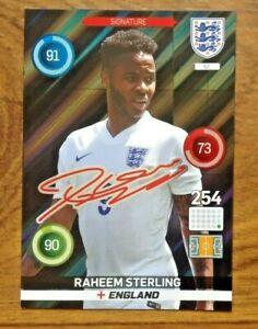 ADRENLYN XL PANINI EURO 2016 RAHEEM STERLING LIMITED