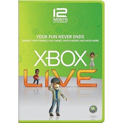 XBOX LIVE 12 (+1) MONTH GOLD MEMBERSHIP CODE (Brazil Region/VPN in 4 steps)  | eBay