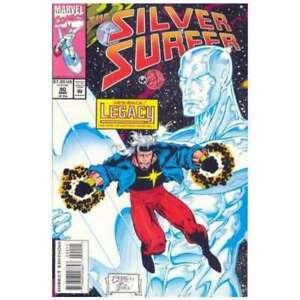 Silver-Surfer-1987-series-90-in-Very-Fine-condition-Marvel-comics-le