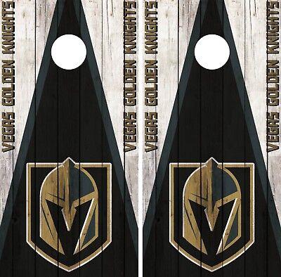 Vegas Golden Knights Cornhole Wrap NHL Game City Skyline Skin Vinyl Decal CO912