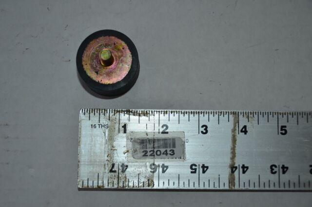 GRAINGER Rubber Vibration Isolator Max 2NPF1 125 Lb