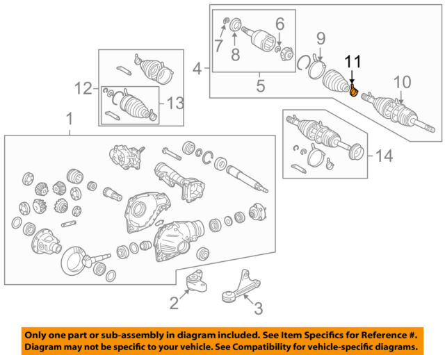 TOYOTA OEM Carrier Front Axles-clamp 4234560130