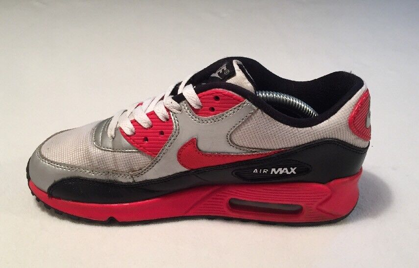 Mujeres Nike Air Max 90 GS CORRER ZAPATILLAS ZAPATILLAS ZAPATILLAS UK 5 Raro Vintage 5307793 154 95 98 1 11ad41