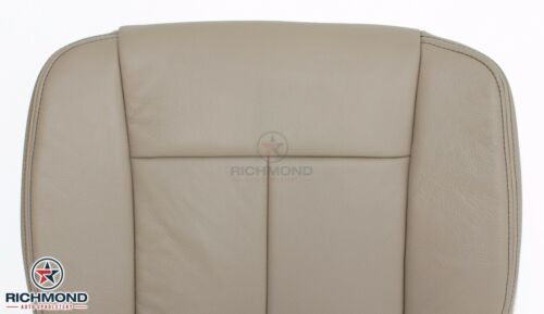 2011-2014 Ford F150 Lariat-Driver Side Bottom Replacement Leather Seat Cover Tan