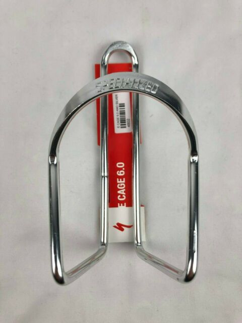 2 x Specialized Silver Bottle Cages