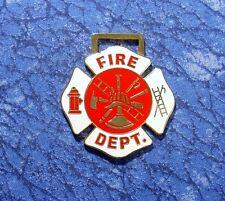 Fire Dept. Firefighting Logo Watch Fob