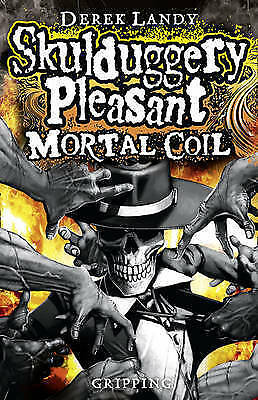 "1 of 1 - ""VERY GOOD"" Mortal Coil (Skulduggery Pleasant - Book 5), Landy, Derek, Book"