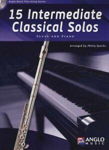 Avoir Un Esprit De Recherche Intermédiaire De 15 Classique Solos For Flute Partition Livre Avec Cd-afficher Le Titre D'origine