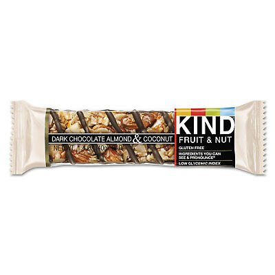 Kind Fruit And Nut Bars Dark Chocolate Almond & Coconut 1.4 Oz Bar 12/box 19987 Quell Summer Thirst Health & Beauty Endurance & Energy Bars, Drinks & Pills