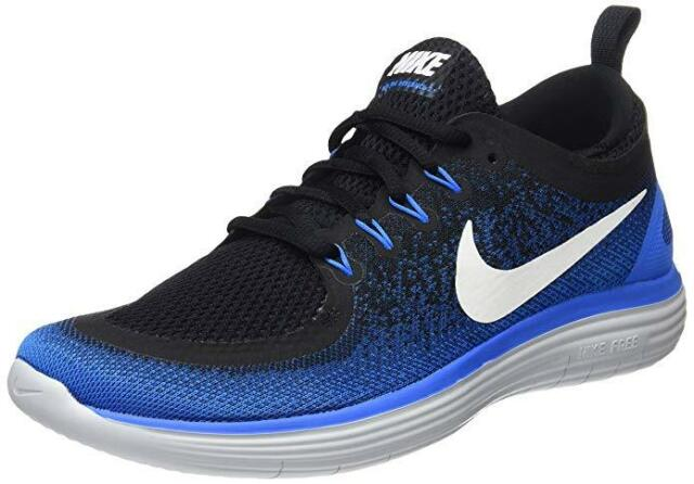promo code b5dd3 7a10e Nike Mens Free RN Distance 2 Running Shoes Size 12 Colors Armory NavyWhite-