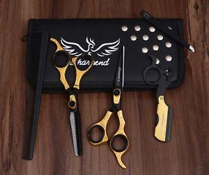 "6.5"" Professional Salon Hair Cutting Japanese Scissor Thinning Barber Shear Set"