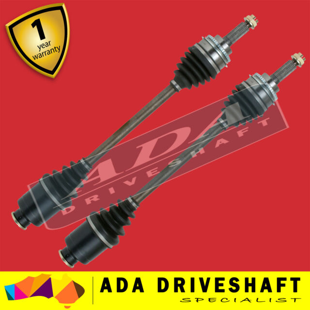 2 NEW FRONT CV JOINT DRIVE SHAFT TO SUIT SUBARU OUTBACK 10/99-09/03 ABS (PAIR)