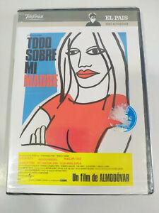 Todo Su il Mio Madre Pedro Almodovar Penelope Croce DVD Regione 2 Spagnolo Nuovo