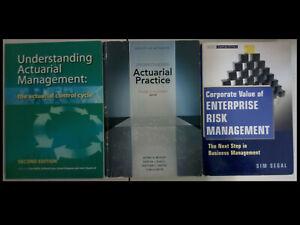 SOA FAP(Fundamentals of Actuarial Practice) textbook bundle: 3 textbooks