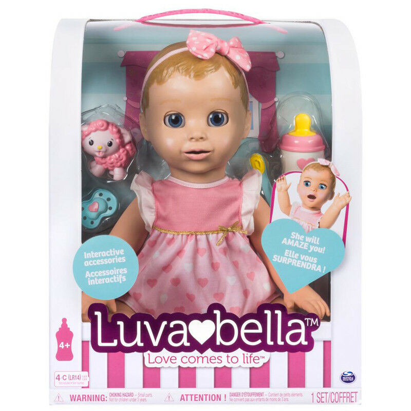 Luvabella Luvabella Luvabella Electronic Talking Doll with Blonde Hair - 6028851 - NEW d85069