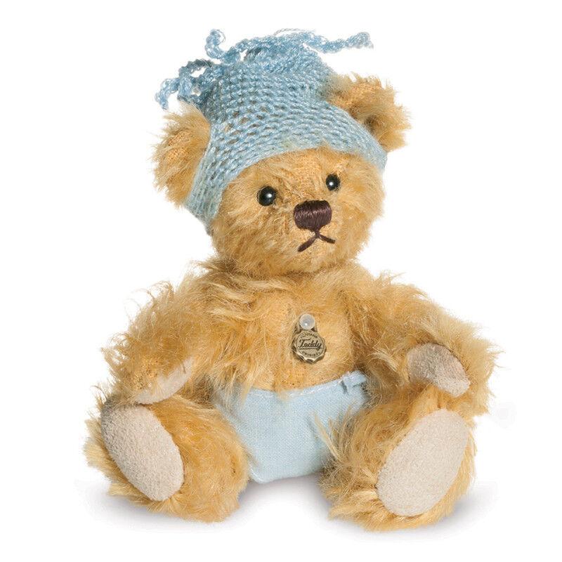 Teddy Hermann' Teddybär Baby Junge 'Limitierte Auflage Miniatur Mohair Bär -
