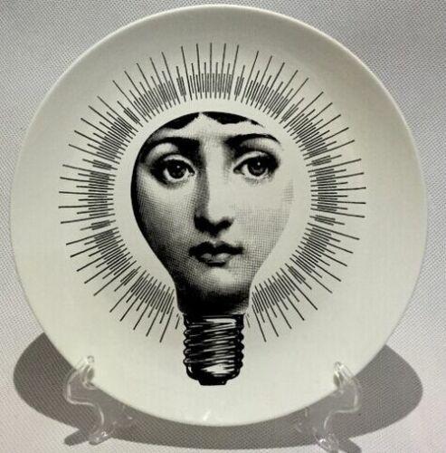 Fornasetti Plates Art Beauty Face SKULL Custom Los Platos For Art Bedroom Home