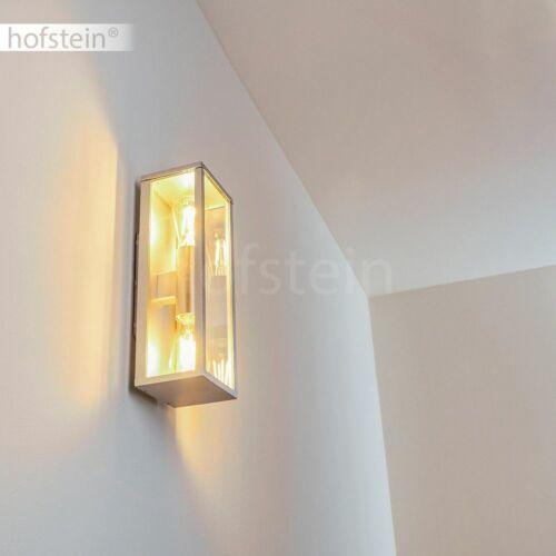 Vetro muro esterno LAMPADE Argento Colori TERRAZZE BALCONE CASA Porta Vialetto luci