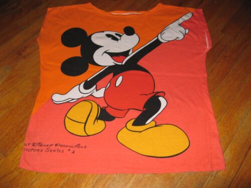 Klein Mickey Mouse Tee Series4 Collectors Zeldzaam Fantastisch Shirt Vintage q35ALj4R