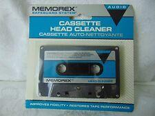 Memorex SEALED Cassette Head Cleaner NOS  Carded