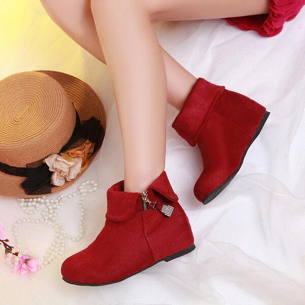 Bottes basses chaussures rangers rouge confortable confortable comme cuir 978