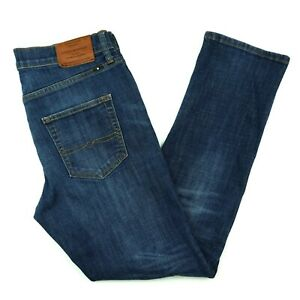 Lucky Brand 410 Athletic Slim Mens 32x30 Blue Dark Wash Jeans Label 30x30