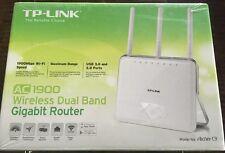 New TP-Link AC1900 Wireless Long Range Wi-Fi Gigabit Router Archer C9 Sealed