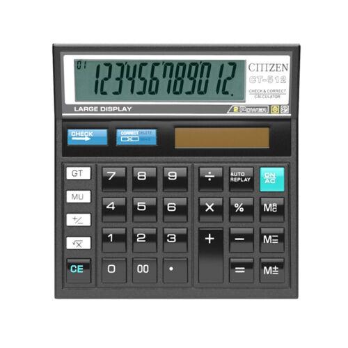 CITIZEN DESKTOP FINANCIAL CALCULATOR 12 DIGIT LCD DISPLAY